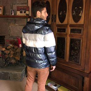 Warm and fashion forward grey Ombré Michael Kors